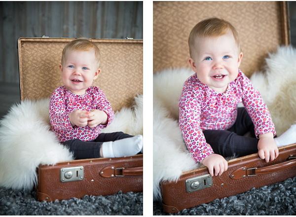 Elvira 1 år barnfotografering borlänge 3